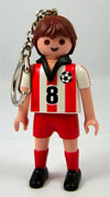 Playmobil 'Football' Player Keychain