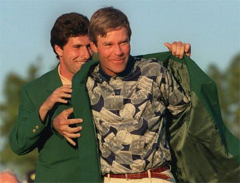 Ben Crenshaw 1995 Green Jacket