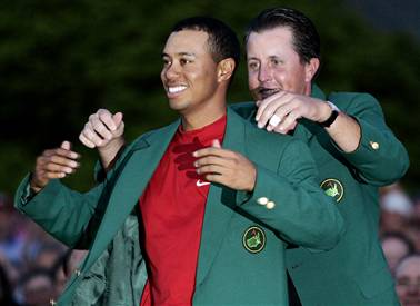 Tiger Woods 2005 Green Jacket