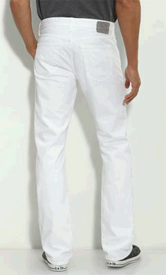 AG Protege in white via AG, $156.00