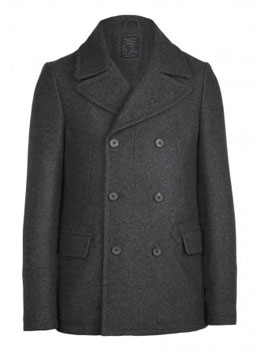 Riven Coat via AllSaints, $285.00