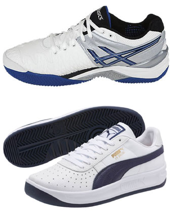 promo code 60bc9 809d6 December 13, 2018 Top  Asics GEL Resolution. Bottom  Puma GV Special.