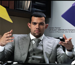LA Lakers' Jordan Farmar, apparent Astor and Black customer