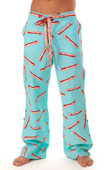 Ginch Gonch 'I Love Bacon' Sleep Pants via ginchgonch.com, $39.00