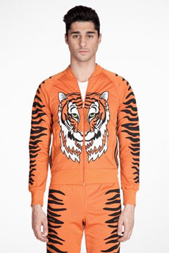 King of Africa Zipup via ssense.com, $422.00