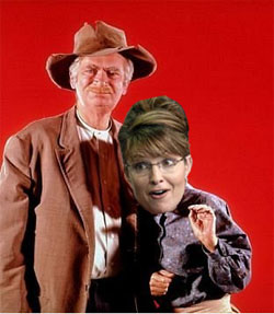 Sarah Palin as Shotgun-Toting Grandma?