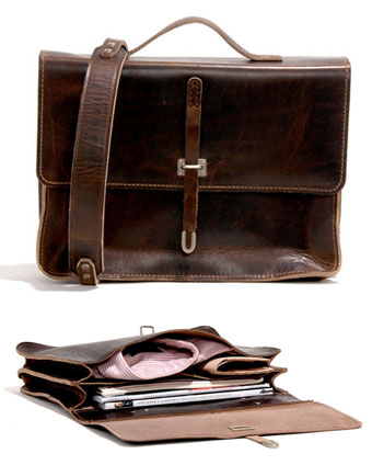 No. 236 Schoolboy Satchel via Billykirk, $385.00