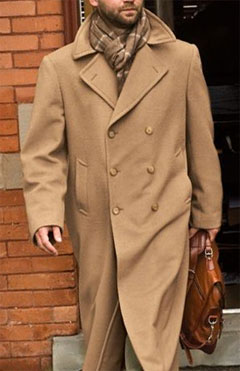 Camel Hair Trench Coat via J. L. Powell, $2297.00