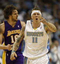 Is the Denver Nuggets' Chris Andersen (aka Birdman) the Biggest Toolbag in the NBA?