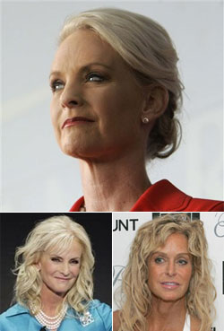Cindy McCain Says, 'Fuck This. I'm Going Farah.'