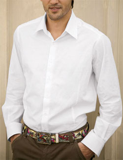 1 Like No Other White Shirt via Clark's Register, $178.00