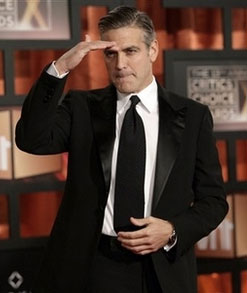 George Clooney Demonstrates the Death of Skinny