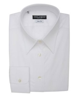 Dolce & Gabbana Slim-Fit Dress Shirt via Bluefly, $220.00
