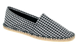 ASOS Gingham Espadrille Shoes via asos.com, $17.24