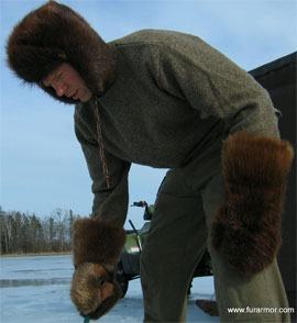 MB Endorses: Fur Armor Beaver Fur Chopper Mitts