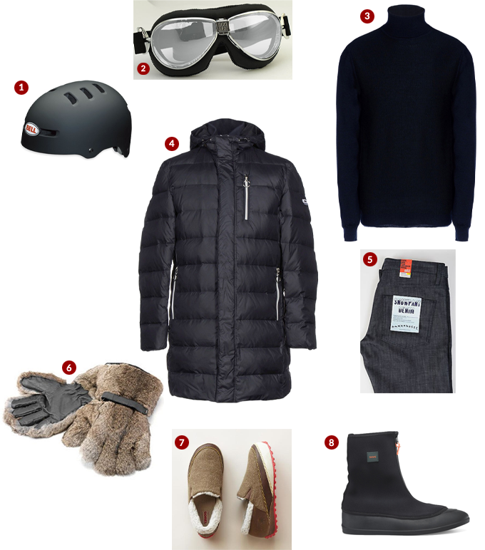 Get Dressed: Biking to Work in Arctic Conditions, the Ultimate Guide