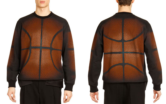 Unsafe at Any Price: Givenchy Basketball Print Sweatshirt