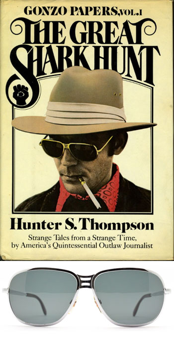 Ask the MB: Gear and Clothing in Las Vegas. Hunter Thompson's Sunglasses.