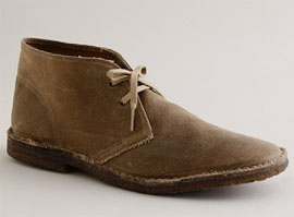 Rugged twill MacAlister boots via J. Crew, $150.00
