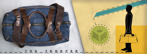 MB Giveaway: J. Fold 'Trooper' Bag