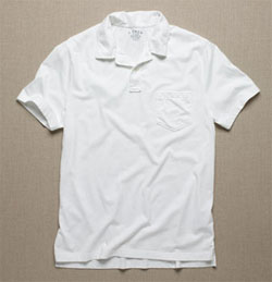 Broken-in pocket jersey polo  via J. Crew, $39.50