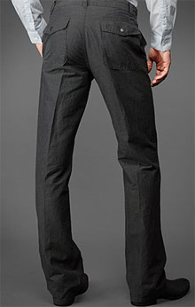 John Varvatos Linen/Cotton Soho Pant via John Varvatos, $298.00