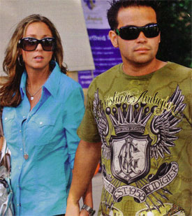 Jon Gosselin Palling With and Wearing Christian Audigier
