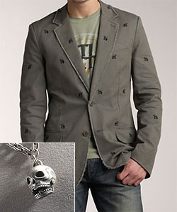 Juicy Couture Skull Blazer via Neiman Marcus, $175.00