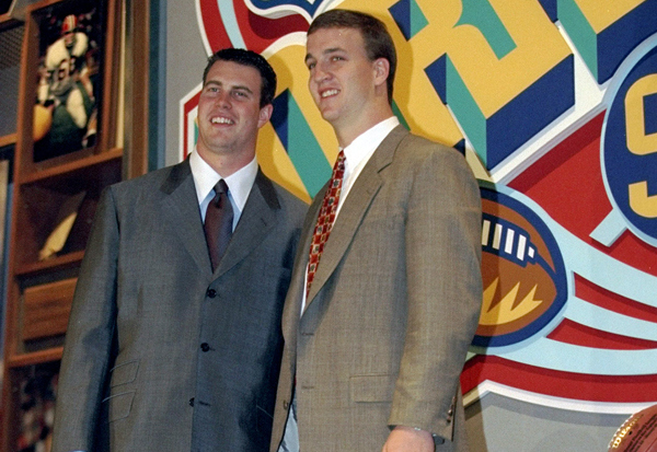 1998 Draft: Ignoring the Button Indicator, More GMs Preferred Ryan Leaf Over Peyton Manning