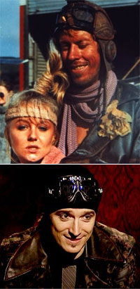 Separated at birth? Gyro pilot from 'Road Warrior' and Mystery?