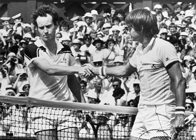 Historically Bad Handshakes - John McEnroe