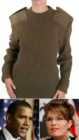 Tip the MB: British Commando Sweater