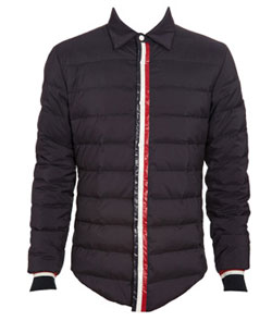 Moncler 'Grenoble' Padded Shirt via Browns, $561.35