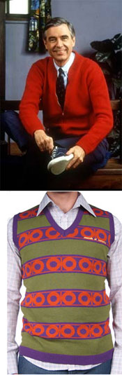 'Vegard' Sweater Vest via Ragdaddy, $56.00