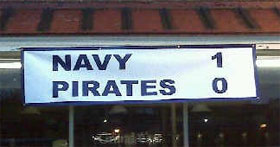 Sign in downtown Annapolis, MD