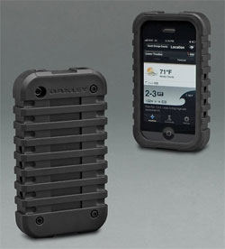 IPHONE CASE V.2 via oakley.com, $30.00