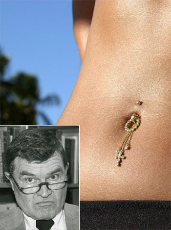 Paul Fussell expresses his opinion on excessive piercings