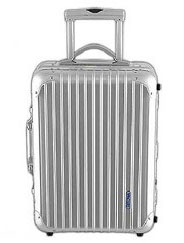 Rimowa Topas Aluminum Cabin Trolley via Colorado Baggage Co., $975.00