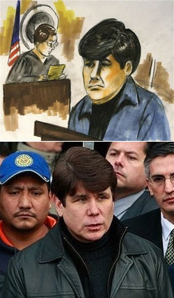 Artist Illustration Depicts Rod Blagojevich as Hirsute Toolbag