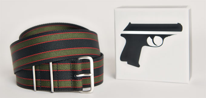 Secret Agent Belt via Magnificent Bastard, $30.07