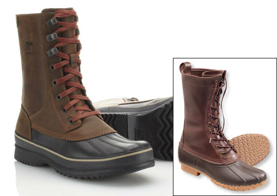 Sorel Kitchener Frosts via Amazon, $157.00