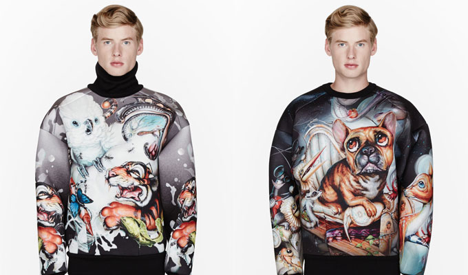 Show Us Your Game Face, Dude! JUUN J. Neoprene Novelty Sweatshirts