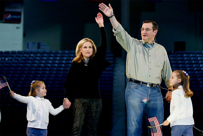 Ted Cruz Throws His Dad Jeans in the Ring