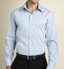 Theory Long Sleeve Dress Shirt via Nordstrom, $125.00