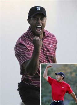 Tiger Woods in Collared Shirts