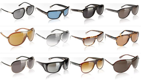 Tom Ford Sunglasses Galore