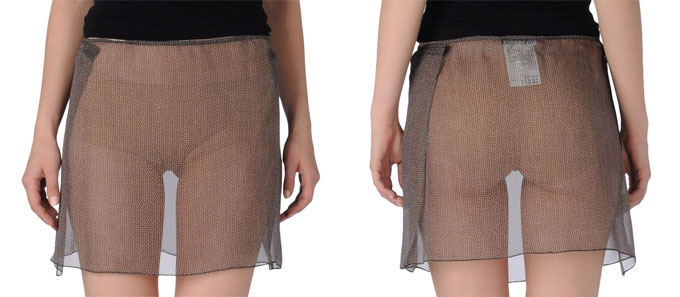 Things We Wish Women Would Wear More Often: Sheer Miniskirts