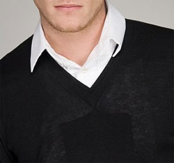 Ask the MB: Shirt Collars and V-Neck Sweaters