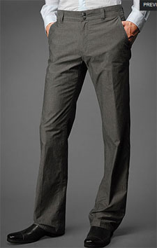 John Varvatos Soho Pant via johnvarvatos.com, $298.00
